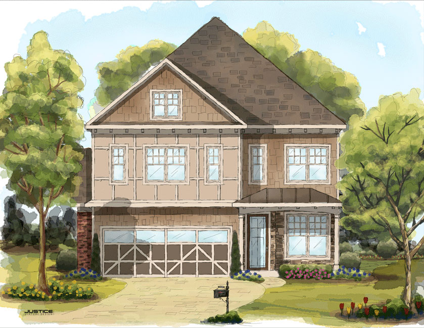 Remarkable Watercolor House Plans Pictures Best